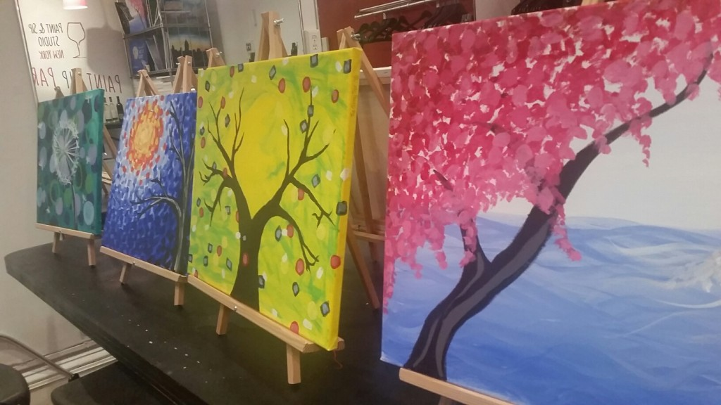 paint and sip ny