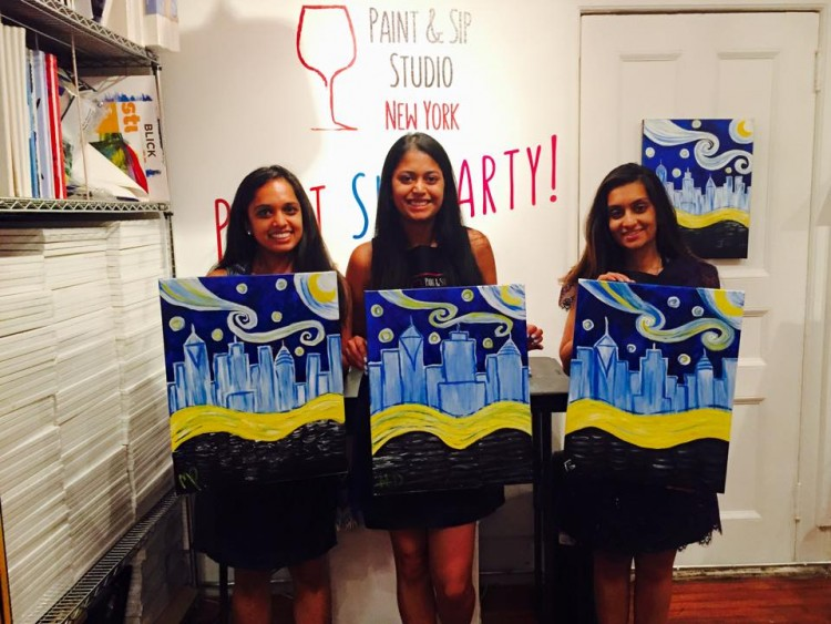 paint-and-sip-nyc-activities-fun-summer