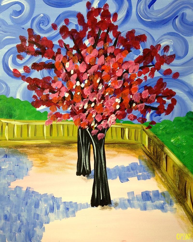 Livingsocial nyc byob painting for Sip and paint charlotte nc