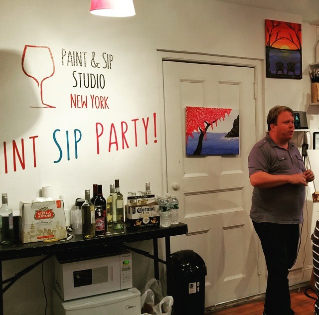team-building-event-space-nyc-paint-sip-studio