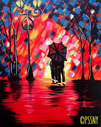 Christmas Paint And Sip November 2020 Nyc Paint & Sip Studio NY NYC : Painting Classes and Parties : Art & Wine