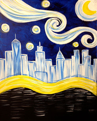 Paint Sip Studio Ny Nyc Painting Classes And Parties