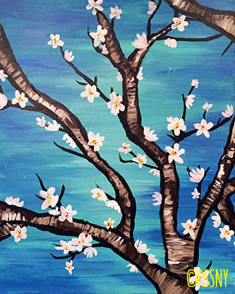 Paint Sip Studio Ny Nyc Painting Classes And Parties Art Wine
